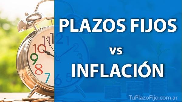 Plazos Fijos vs Inflación